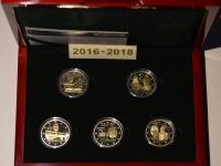 Kúpim sadu Luxembursko 2016-2018 Proof s pamätnými mincami