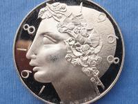 Pamätná minca 50 Kčs 1968 PROOF - Libuše