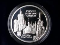 strieborné korunové pamätné mince proof