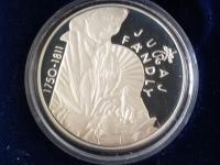 strieborné korunové pamätné mince proof - aj výmena