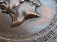RU medaila Polni marsal hrabe Radecky z Radce 1859