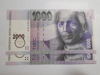 10 x 1 000 Sk 1993 Bimilénium