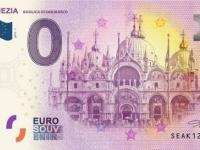0€ bankovky, 0 eurová bankovka, souvenir