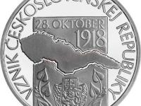 100. vyrocie vzniku csr 10 EURO proof 3ks