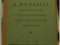 Publikácia - Vyobrazení plaket a medailí zhotovených československou státní mincovnou v Kremnici z roku 1924