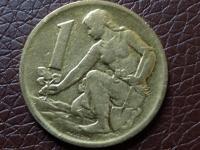 Minca 1Kčs 1970