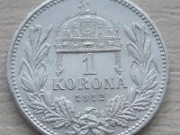 1 korona 1912KB velmi pekna