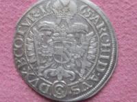 Groš -3 grajciar 1665 CA Leopold I.