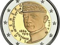 2 Euro Štefánik 2019 PROOF