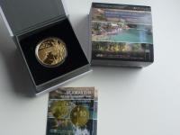 zlato - 10 NIS 2013 Rieka Jordan - Izrael - naklad 555ks