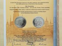 2016 - 10€ Ján Jessenius (č.1606)