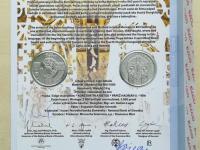 2018 - 10€ Uznanie slovanského liturgického jazyka (č.1067)