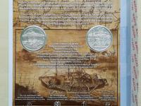 2018 - 10€ Plavba prvého parníka na Dunaji v Bratislave (č.1629)