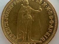 10 korona FJ 1910 K.B.