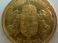 10 korona FJ 1909 K.B