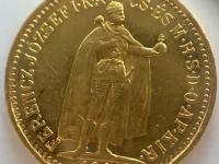 10 korona FJ 1908 K.B