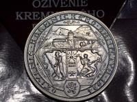 Dopyt medaile Ozivenie Kremnickeho Banictva 2016