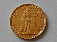 Au 10 koruna 1906 KB