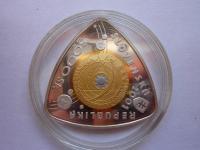 5000 Sk Tretie tisícročie 2001 - kompletka + bloček