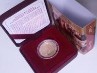 zlatá minca Jaskyne Slovenského krasu