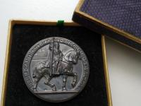 Ag Medaila Sv. Václav RR, 1 ČSR.
