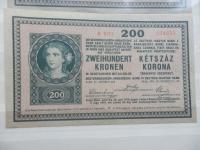 200 korún 1918