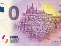 0€ bankovky, souvenir