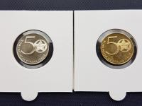 ARTIA Kolarsky Komunistická strana Itálie - 21. leden 1921 dvojicka medaili z roku 1971