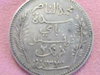 2 francs 1912 A Tunis