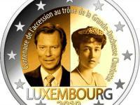 """Nové 2E pamätné z 2019 - Luxembursko """"100.výr.korunovácie Charlotte"""" 3,20"""