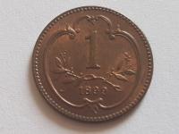 1 Halier 1899 BZ Vzácny