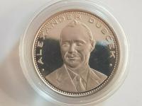 Strieborná medaila Alexander Dubček 1968!