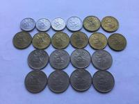Československo 1. 2. 3. ČSR, ČSSR mince v krásnych stavoch - veľa v 0/0 až RL