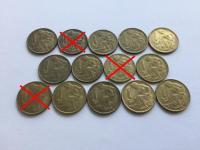 Československo 1. 2. 3. ČSR, ČSSR mince v krásnych stavoch - väčšina v 0/0 až RL