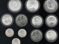 Pamätné mince Slovensko 9kusov a 3kusy Stalin 1949