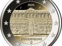 2€ mince UNC  Estónsko,Francúzsko,Nemecko 2020