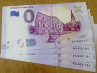 Spišská Nová Ves - 0 euro souvenir