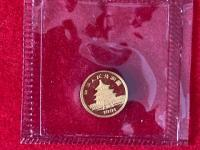 rôzne zlaté mince