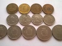 Obehové mince krajín Európy - Belgicko, Holandsko, Švédsko,