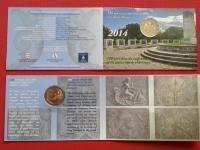 Grécko 2€ 2014, karty, coincards