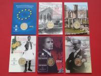 Grécko 2€, karty 2015 - 2017, coincards