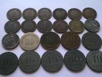 Obehové mince krajín Európy - Nemecko, Rakúsko, Maďarsko, Poľsko, Belgicko, Holandsko, Švédsko, Taliansko, Malta, Balkán ...