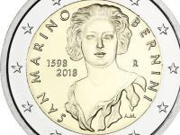 pamätné 2€ mince San Marino