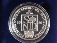 slovenské strieborné eurové zberateľské mince proof