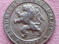 5 cent 1900  Belgicko
