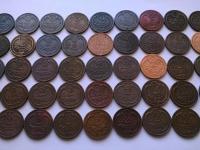 Rakúsko Uhorsko obehové mince heller filler kreuzer