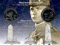 2018 - 10€ Milan Rastislav Štefánik