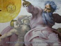 Predam euro mince Vatikan, Monako, San Marino.