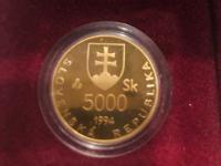 Svätopluk 5000sk 1994