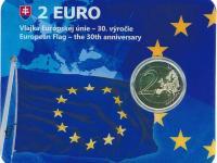 2€ Slovensko 2015 - vlajka EÚ coincard